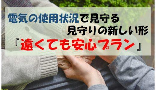 電気の使用状況から高齢者の暮らしを「見守る」新しい形『TEPCOの遠くても安心プラン』